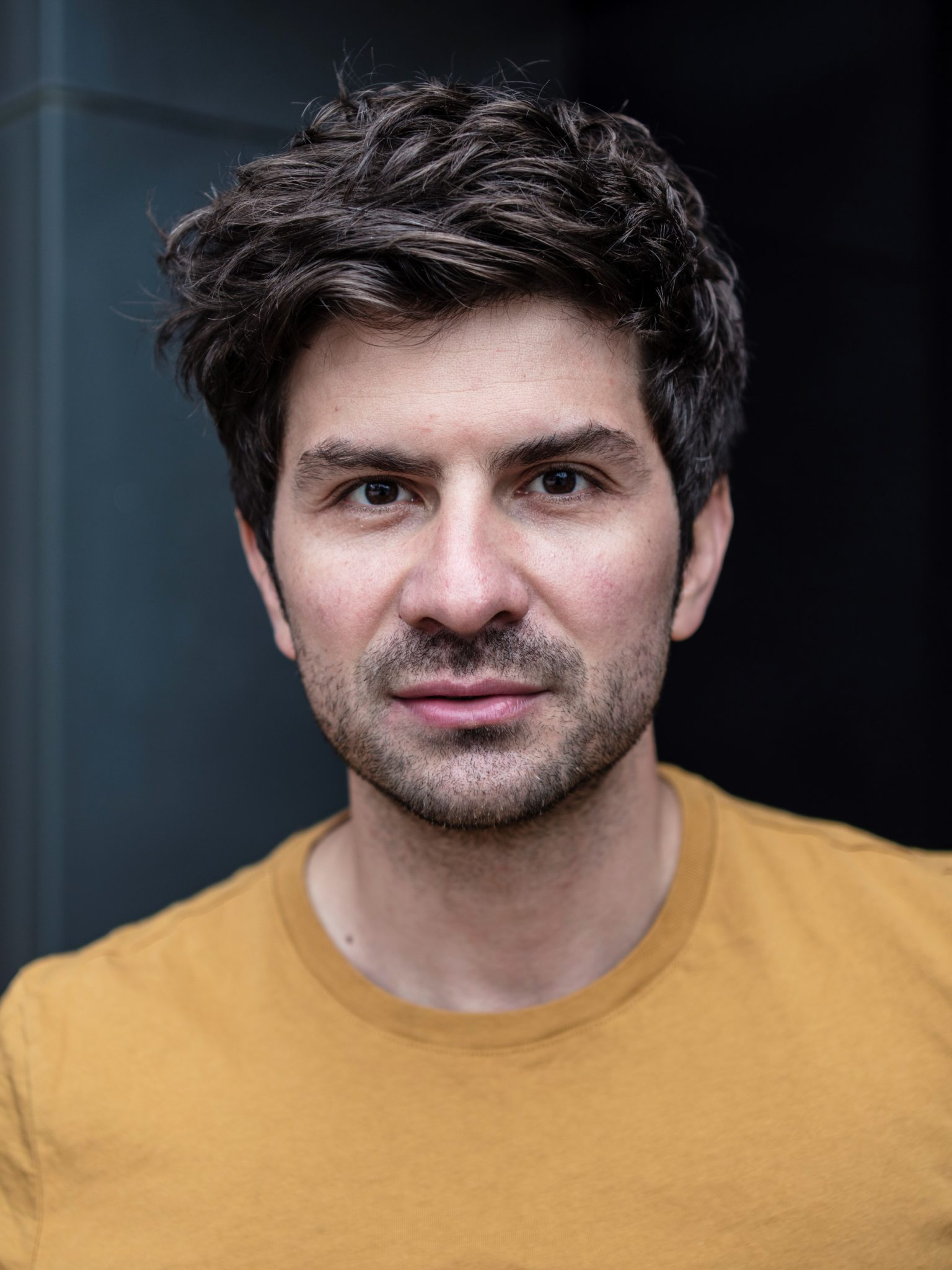 Schauspielerportraits Portraitshooting Berlin - Marco van Oel