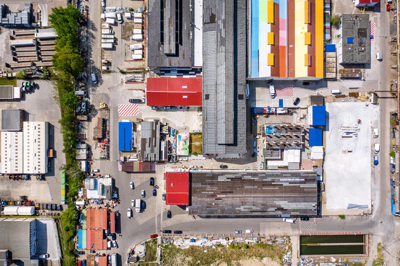 Luftbildaufnahmen in Berlin Marco van Oel