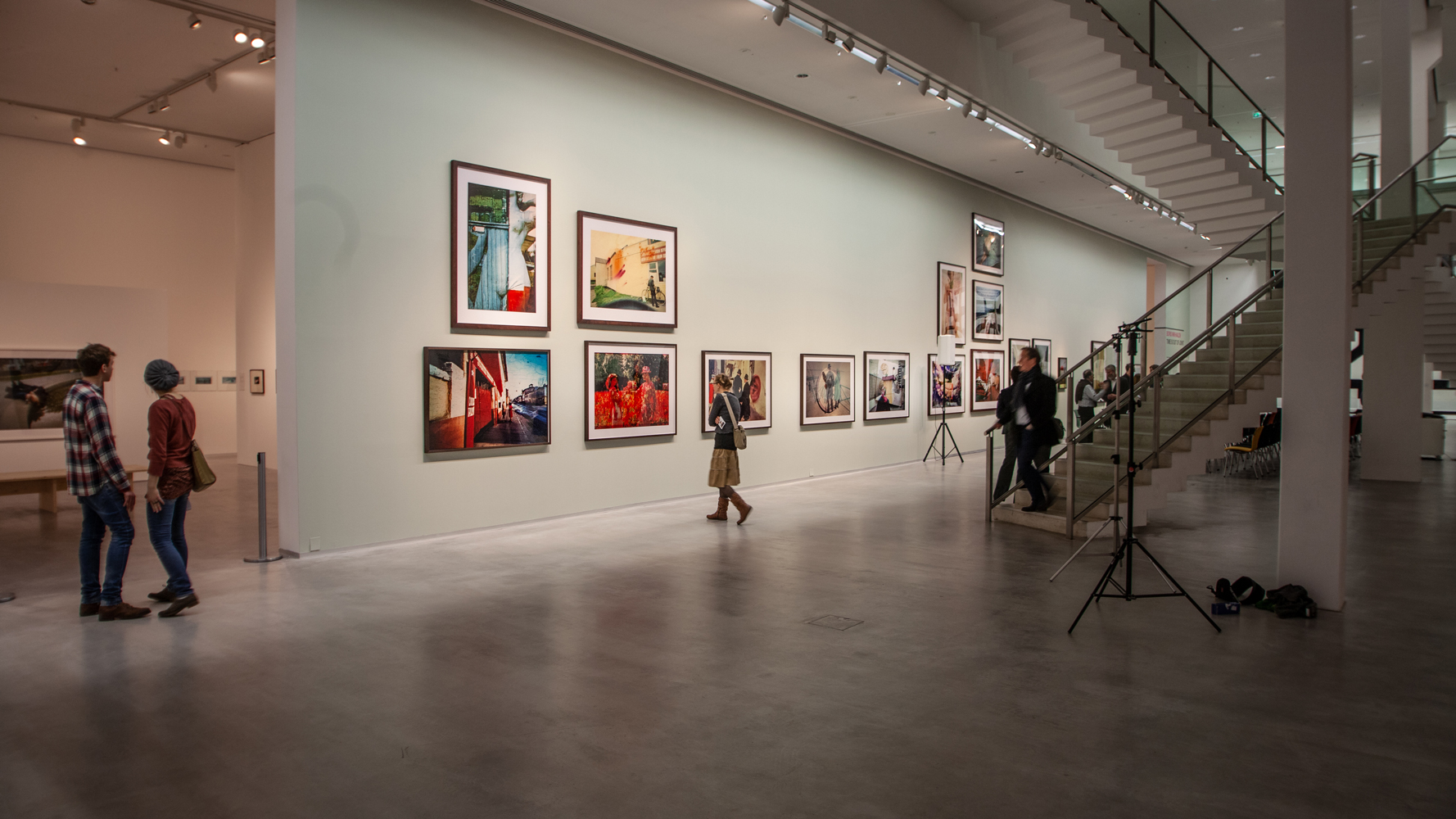 Weitwinkelfotografie Ausstellungsfotografie Berlinische Galerie - Marco van Oel